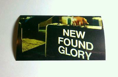 New Found Glory Coming Home Suitcase Hand Guitar Case Amp Rare Promo Sticker