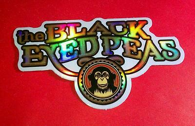 BLACK EYED PEAS BEP FERGIE Monkey NAME COLLECTIBLE CHASER STICKER