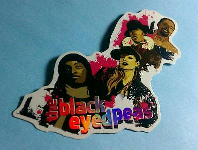 Black Eyed Peas Bep Fergie Cartoon Photo Hats Name Collectible Chaser Sticker