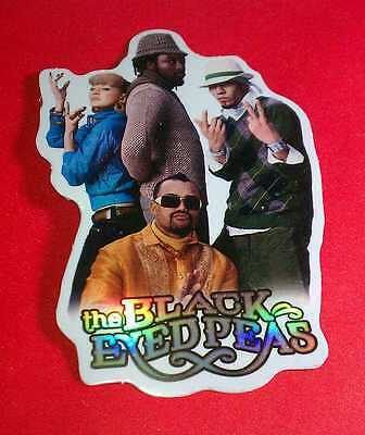 Black Eyed Peas Bep Fergie Posing Peace Photo Name Collectible Chaser Sticker