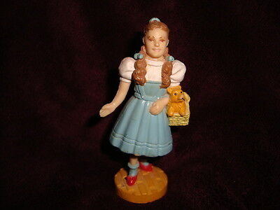 "Wizard of Oz Dorothy & Toto Figure 1987 Turner 3.5"" PVC"
