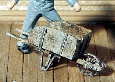 S SCALE/Sn3/Sn2 WISEMAN MODEL SERVICES DETAIL PARTS: S334 WOOD WHEEL BARROW KIT