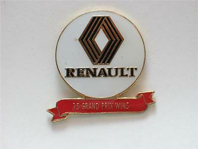 RENAULT GRAND PRIX RACING Race Car PIN , (**
