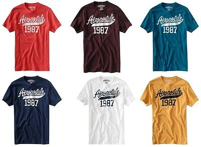 New Aeropostale Mens Lot Of 25 T-Shirts Size Large Wholesale Nwt