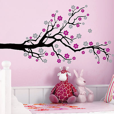 **** CHERRY BLOSSOM TREE FLOWERS **** Vinyl Wall Decals Sticker Art Decor Mural