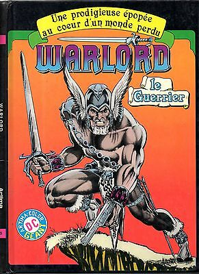 WARLORD n°1 # WARLORD LE GUERRIER # ARTIMA COLOR GEANT # 1981 BD cartonné