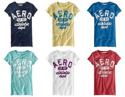 New Aeropostale Womans Lot Of 25 T-Shirts Size Large Wholesale Nwt