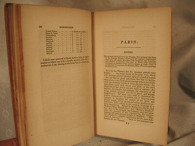 France Social Literary Political Henry Litton Bulwer Antique Old Book 1845 Vol I