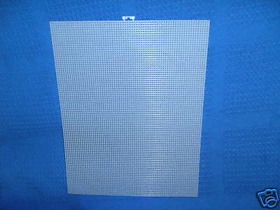 "5 Sheets of 7 Count Plastic Canvas  size 13.5"" x 10.5"""