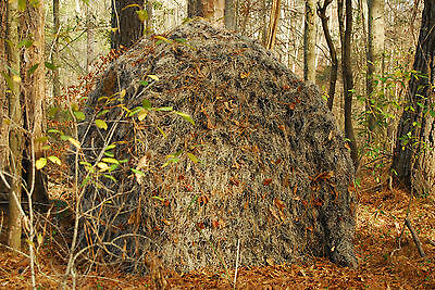 Ghillie cover for a Ground Blind, Double Bull, 4-wheeler, golf cart, 5-colors