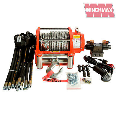 HYDRAULIC WINCH 20000 lb WINCHMAX BRAND