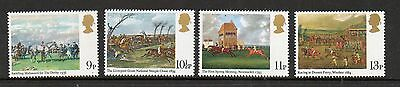 GB 1979 Horseracing Paintings unmounted mint set stamps
