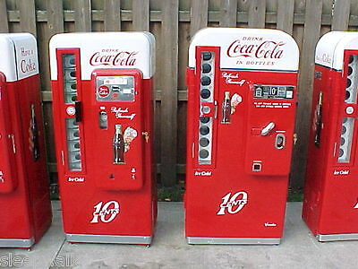 VENDO 81 A Cavalier 72 Coca Cola Coke Machine, 7up Dr. Pepper, RC Cola, on