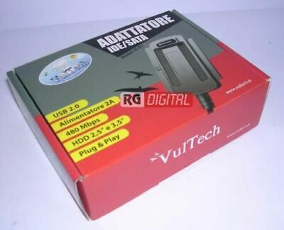 "Cavo Adattore Convertitore USB 2.0 To Sata Ide 2.5""/3.5 Vultech IS-01 480 Mbps"