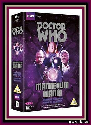 DOCTOR WHO - MANNEQUIN MANIA (Spearhead from Space / Terror of the Autons)*NEW