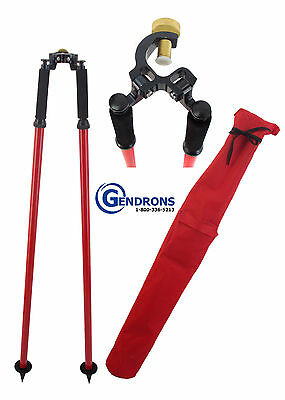 Sokkia Thumb Release Bipod, For Surveying,total Station, Gps,seco,topcon,trimble