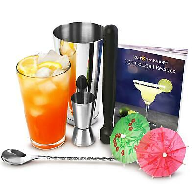 Professional Cocktail Recipe Book Cocktail Set | Cocktail Kit
