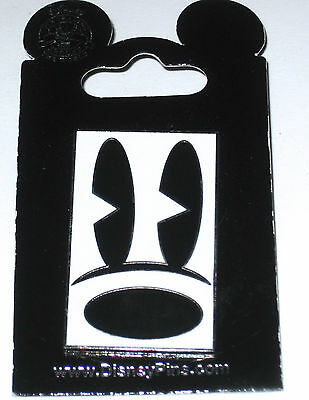 Walt Disney World Pin✿Oh Mickey Mouse!✿Eye✿Nose✿Frame✿Pie Eyed✿Rectangle✿Black