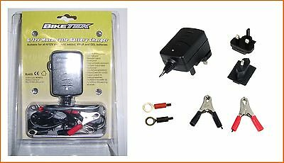 Bike It BIKETEK MOTORCYCLE BATTERY CHARGER 6v / 12v 1A