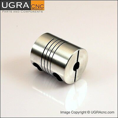 "Motor Shaft Coupling 283oz-in 6mm x1/4"" CNC Router Mill"