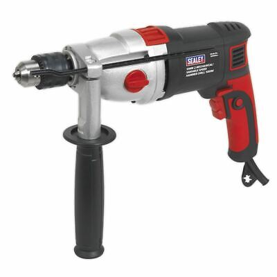 Sealey SD1000 Hammer Drill 13mm 2 Mechanical/Variable Speed 1050W/230V