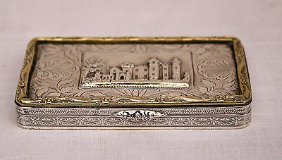 Magnifice1873 Gold & Silver Box Given From Prime Minister Disraeli To Lord Derby