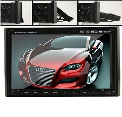 "Double 2 Din 7"" In Dash LCD TouchScreen Car Stereo DVD MP3 Player Radio HeadUnit"