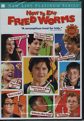 HOW TO EAT FRIED WORMS new dvd JAMES REBHORN KIMBERLY WILLIAMS TOM CAVANAGH