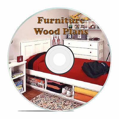 Furniture Building Plans For A Kids Loft Bed Or Bunk, Babies Changing Table Cd