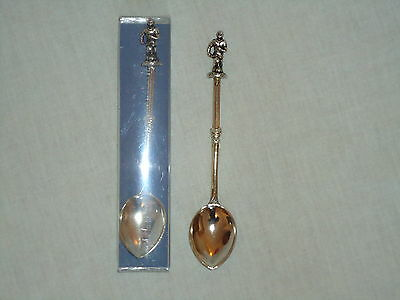 Collectors Footballer Silver Plated Tea Spoon -Collectable- Football -New Gift