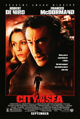 CITY BY THE SEA MOVIE POSTER 2 Sided ORIGINAL 27x40