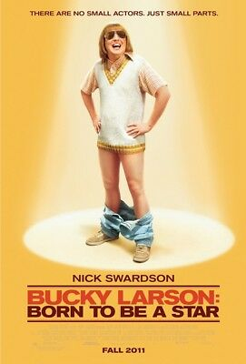 BUCKY LARSON MOVIE POSTER 2 Sided ORIGINAL ROLLED 27x40