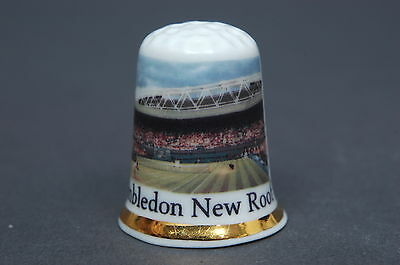 Wimbledon New Roof Bone China Thimble  B/83