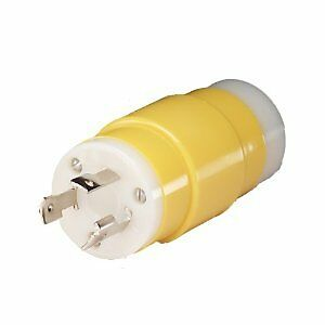 Marinco 85A Boat Shore Power Locking 20A Female Connector to 30A Male Adapter