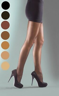 Shine Tights Womens Shiny Gloss Glossy Sheer Shimmer Hosiery Small - Plus Size