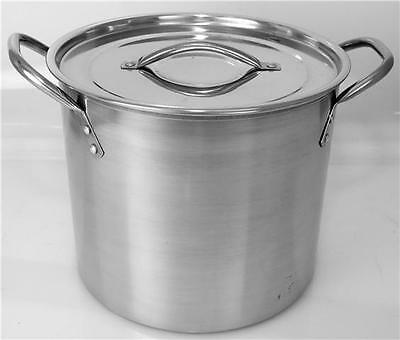 New Stainless Steel Stock Soup Pot Stockpot 6.lt 8.2 Lt 11.2 Lt 15.2Lt And 17.2T