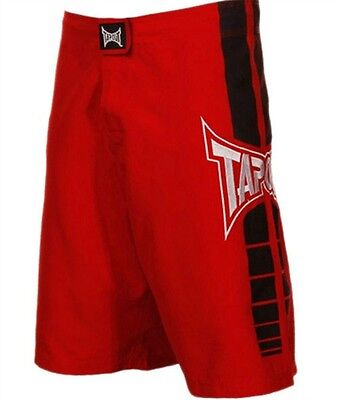 Bnwt Tapout Red Motion Mma Shorts Ufc Tuf 28 30 32 34 36 38