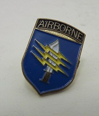 Collectible New Airborne Knife Lighting Bolt Military Hat Pin Lapel Pin