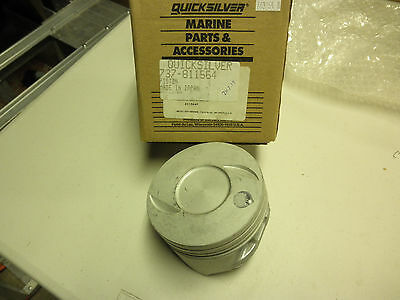 NOS-QUICKSILVER MERCURY MARINE PISTON 737-811564  STD subs to 737-881714 T 7.4L