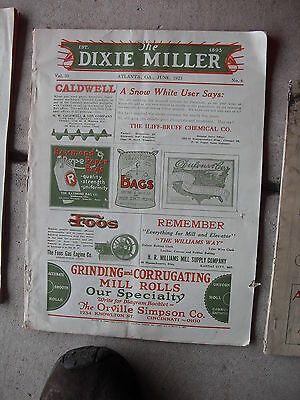 Vintage June 1923 The Dixie Miller Magazine LOOK