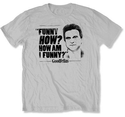 GOODFELLAS - How Am I Funny?:Joe Pesci:T-shirt:NEW - XLARGE ONLY