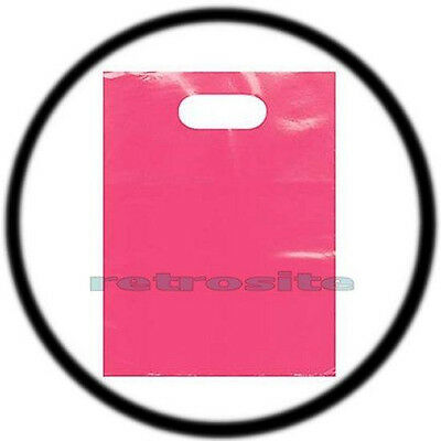 """Army GREEN  GLOSSY Low-Density Plastic Merchandise Bags 50  9/"""" x 12/"""" Forest"""