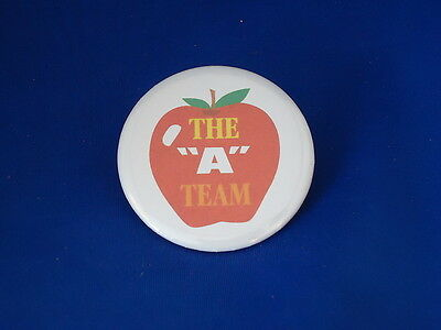 "THE ""A"" TEAM Lot of 12 BUTTONS pin school award recognition pinback NEW! teacher"
