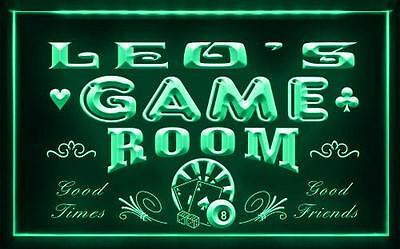 PL-TM Name Personalized Custom Game Room Man Cave Bar Beer Neon LED Sign Store