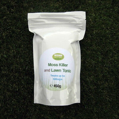 Ivisons Moss Killer And Lawn Tonic As Used By The Professionals 500M2 Coverage