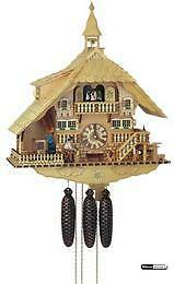 8-day musical - Cuckoo Clock with Bell Tower - 22 3/4'