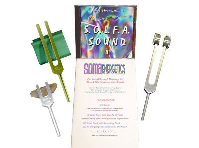 Personal Sound Therapy Kit ~ Tuning Fork Set ~ Tuning Forks ~ Exclusively Ours!