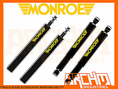 Vl 6 Commodore Sedan Monroe Gt Sport F&r Lowered (Short) Struts/shocks