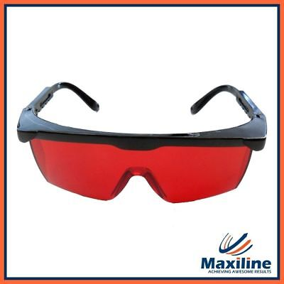 Red Laser Glasses for Rotary Laser Cross Line Laser
