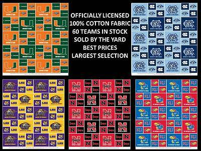 College Cotton Fabric University Cotton Fabric Sold By The Yard